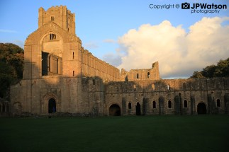 Autumn Evening At Fountains Abbey