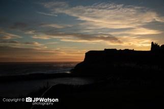 Sunrise Over Whitby Abbey