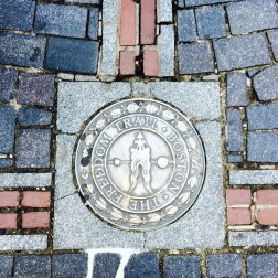 You will drive by many stops on the Freedom Trail