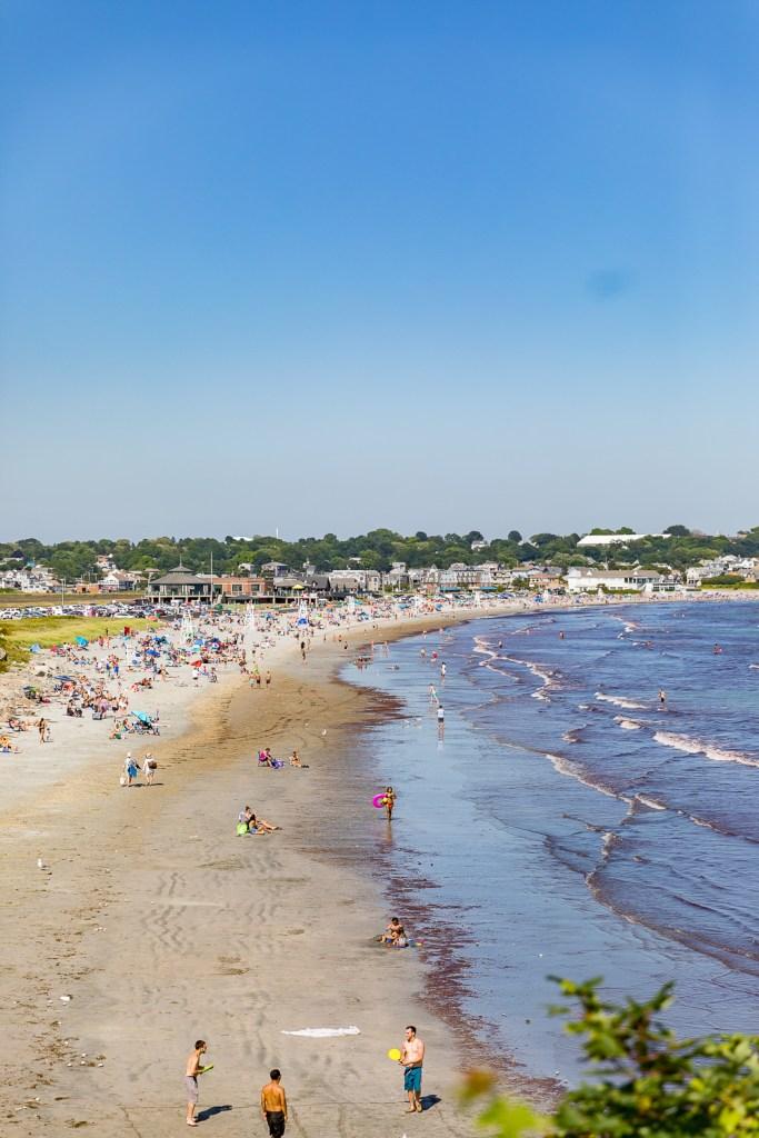 easton beach second beach newport
