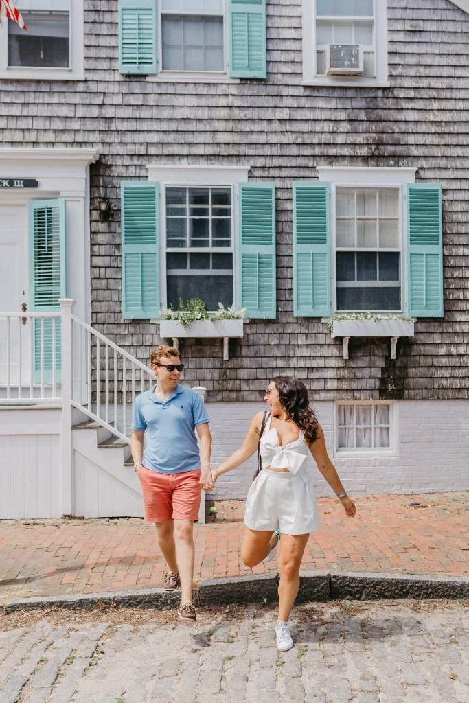 nantucket island couple