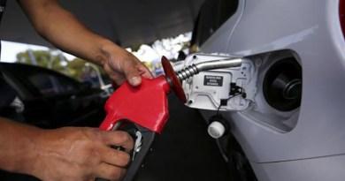 Gasolina fica 5% mais cara. O último aumento foi dia 19