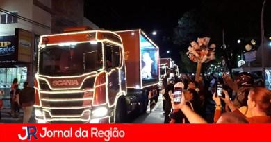 'Caravana de Natal' da Coca-Cola passa por Jundiaí
