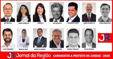 Conheça os 13 candidatos a prefeito de Jundiaí