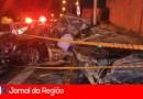 Mulher fica ferida em acidente na Ponte São João