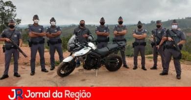 Polícia Militar recupera moto roubada