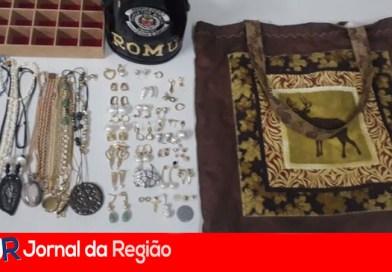 Ladrão com 11 passagens criminais sai de Jundiaí para furtar em Vinhedo