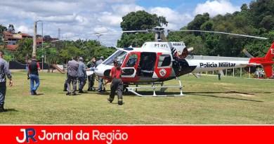 PM socorre trabalhador em Várzea Paulista