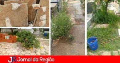 Leitor reclama das condições do cemitério de Campo Limpo