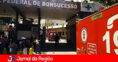 Hospital pega fogo e pacientes vão para borracharia