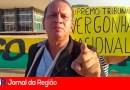 Bolsonarista comanda manifestação pela volta do voto impresso