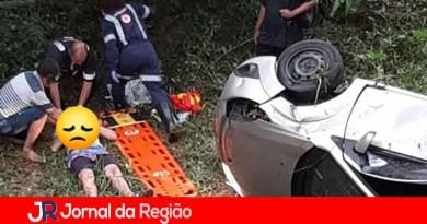 Motorista perde controle da direção e cai no Rio