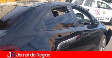 Ladrão de carro sofre acidente de trânsito em Jundiaí