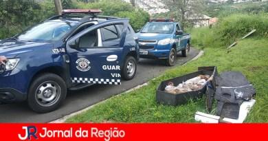 Encontro de caixão mobiliza viaturas da Guarda Municipal