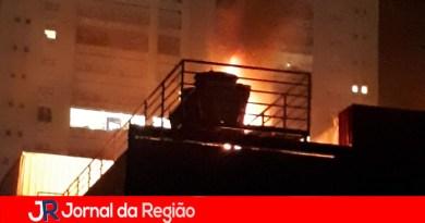 Incêndio no Dom Olívio mobiliza bombeiros