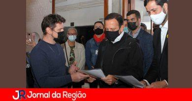 Mata Ciliar e João Doria. (Foto: Mauro Utida)