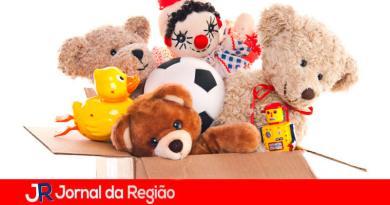 Arrecadação de brinquedos. (Foto: Divulgação)