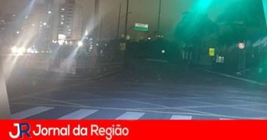 Avenida está sem iluminação na Vila Rami