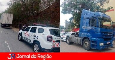 Roubo de carga em Jundiaí. (Foto: Divulgação)