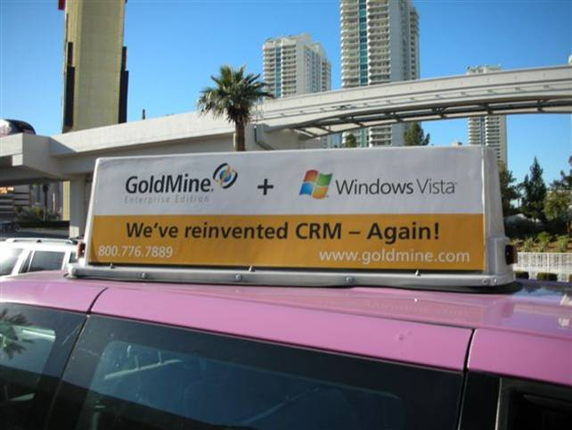 MS Vista and GoldMine CoBranding at CES