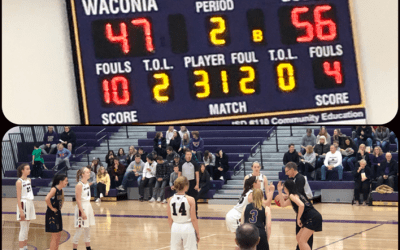 New Prague Finds New Gear in Second Half to Pull Out Win Over Waconia.