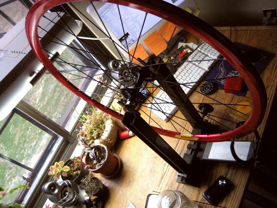 Wheel Building as Therapy