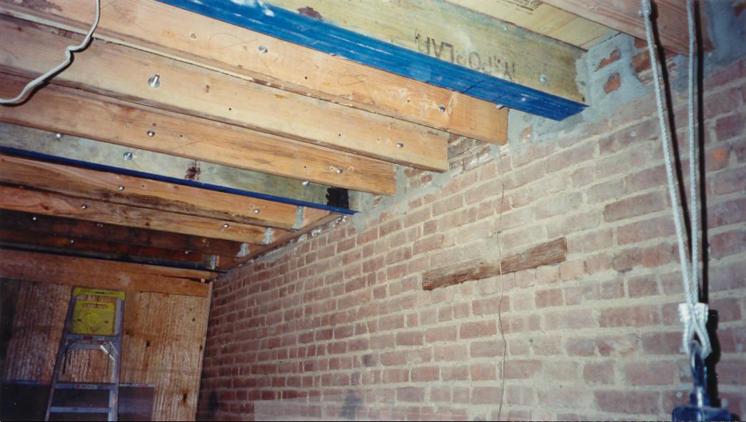 Schacter interior 2nd floor looking south