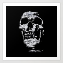 skull, metallic, metal, graphic design, metal affect,