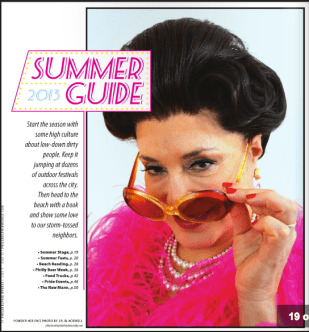 Philadelphia Weekly: Summer Guide Opera
