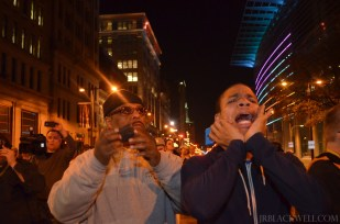 FergusonPHL Protest and March November, Philadelphia