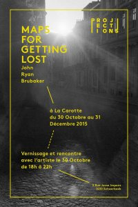 Maps for Getting Lost @ La Carotte