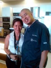 me and chef bruce