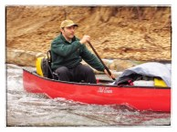Greg passing some rapids.