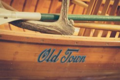 Old Town Canoe at Lost Valley Canoe Outfitter.
