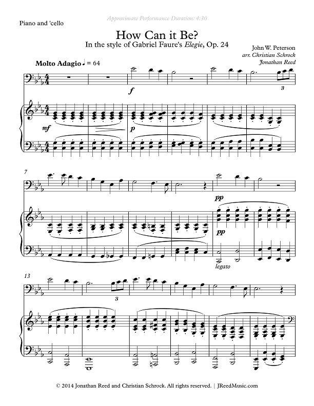 All Music Chords Faure Elegie Sheet Music Faure Elegie And Faure