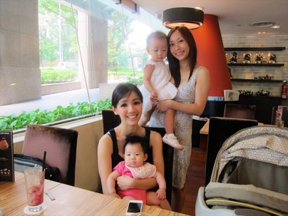 With R and her daughter