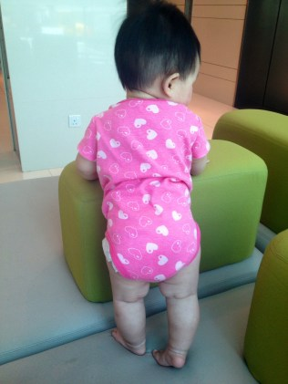 Standing steadily