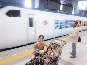 JR Haruka limited express train to Kyoto