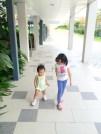 Vionn teaching E to catwalk