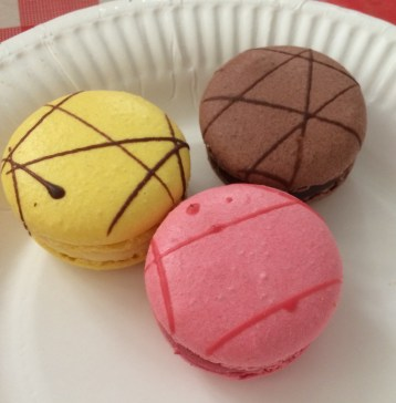 Macarons were served!