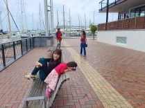 Benches at Viaduct Harbour