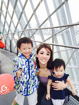 Cloud Forest pic with Isaac and Little E