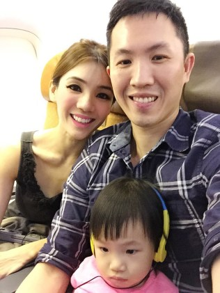 Wefie on the plane