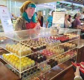 Mini cupcakes in Fremantle Markets