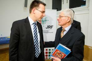 Prof. Dr. Dieter Bathen und Prof. Dr. Michael Brocke