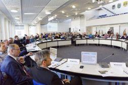 Offene Arbeitssitzung des KomNetAbwasser in Rheda-Wiedenbrück. (Foto: IKT)