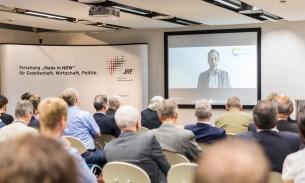 Jorgo Chatzimarkakis, Generalsekretär Hydrogen Europe sendete eine Videobotschaft