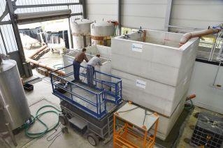 Prüfaufbau: Die Drosseln wurden im Labor unter realitätsnahen, reproduzierbaren Bedingungen getestet.