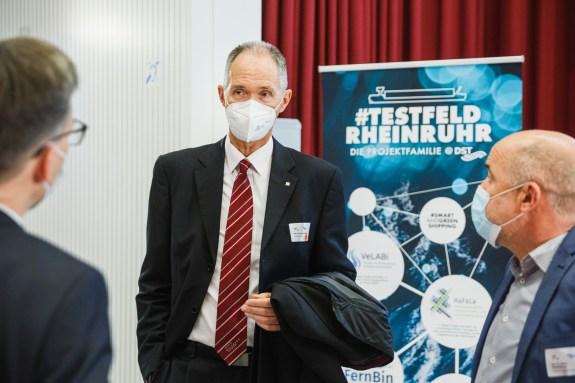 Prof. Dr. Ulrich Radtke, Rektor der Universität Duisburg-Essen