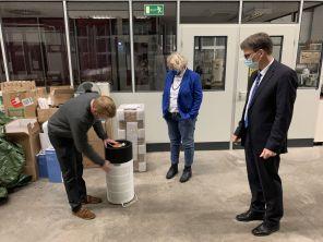Dr. Christoph Asbach, Prof. Dr. Dieter Bathen, Maike Finnern